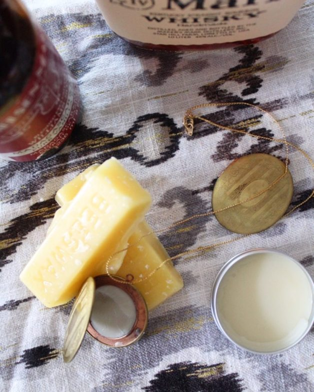 Solid Perfume with Bourbon and Vanilla