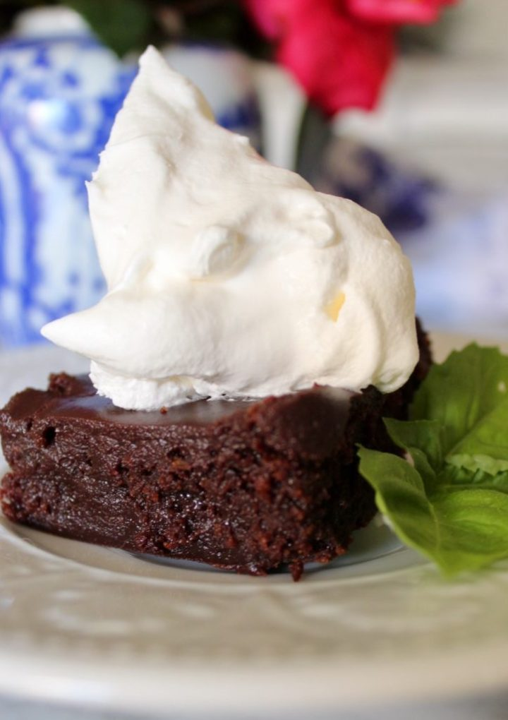 Dark Chocolate Stout Brownies for St. Patrick's Day