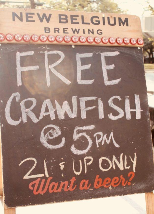 Free Crawfish
