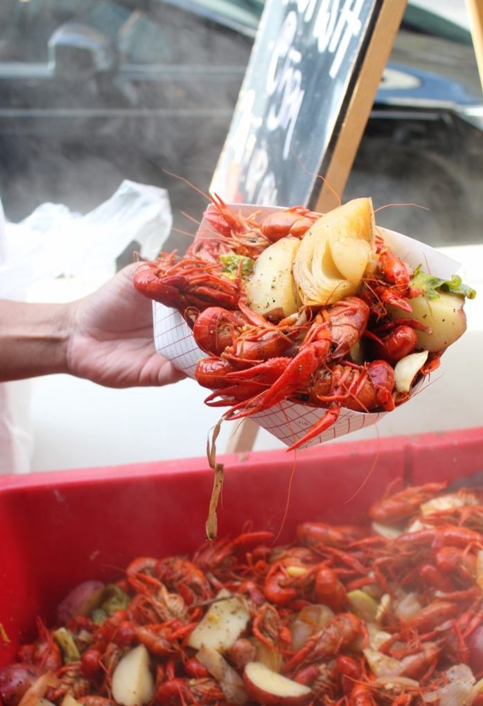 Crawfish in Mobile, Alabama: The Haberdasher