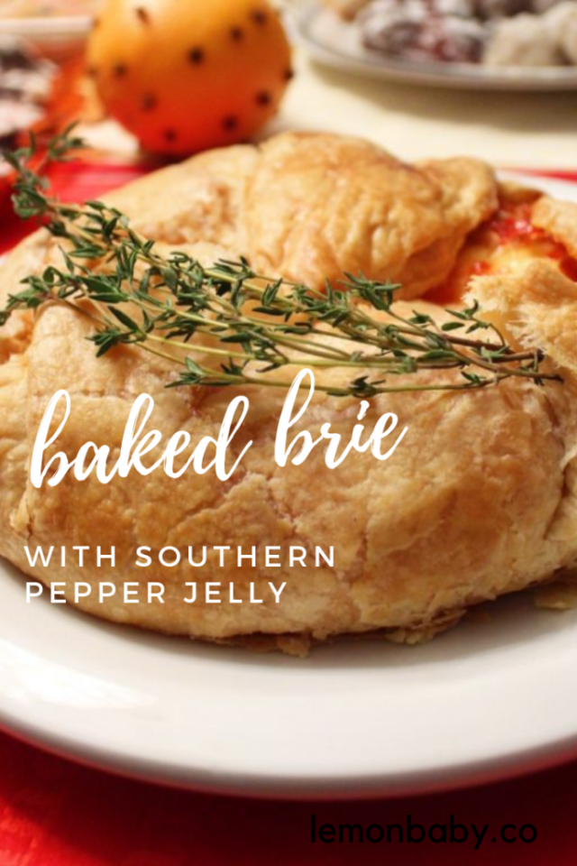 Baked Brie Pinterest Pin