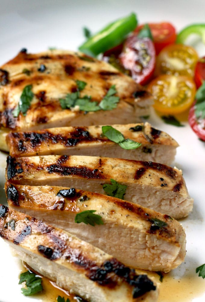 Easy, quick and incredibly flavorful. This grilled Tequila Lime Chicken is so versatile that it will become a regular in your house.