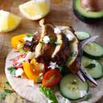 Chicken Shawarma Wrap – Easy and Homemade