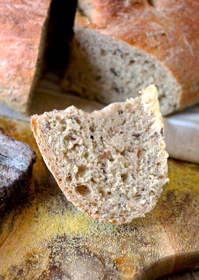 how to make german fitness bread