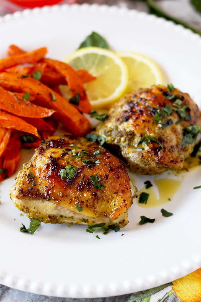 Lemon and Herb Roasted Chicken