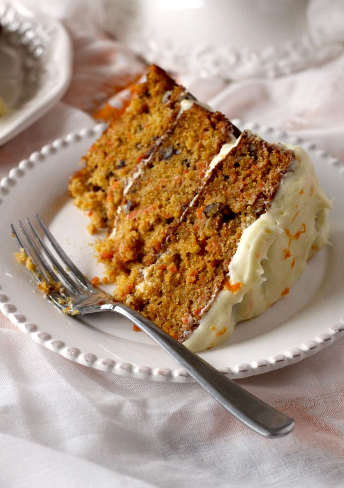 Carrot Cake with Orange Grand Marnier Cream Cheese ...