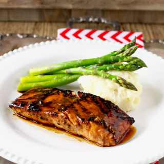 This quick and easy to make 4-ingredient Miso Honey Glazed Salmon is healthy, light, and full of flavor.