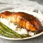 Honey Miso Glazed Salmon (Video)