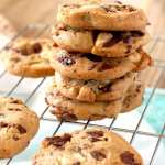 White and Dark Chocolate Chunk Cookies