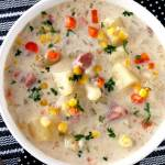 Creamy Slow Cooker Ham and Potato Soup