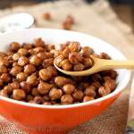 Crispy Oven Roasted Chickpeas (Garbanzo Beans)