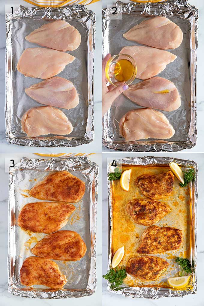 How To Bake Chicken Breast Step By Step