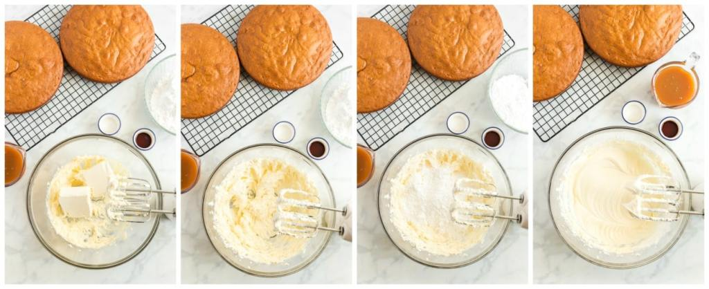 How To Make Caramel Cream Cheese Frosting Step By Step 1