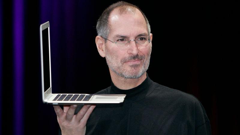 MacBook Air Steve Jobs