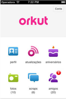 Orkut para iOS