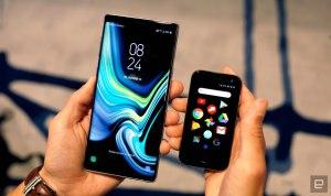 Palm smartphone minusculo