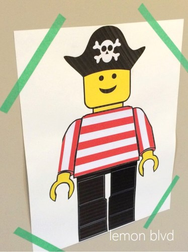 Lego Pirate Eye Patch