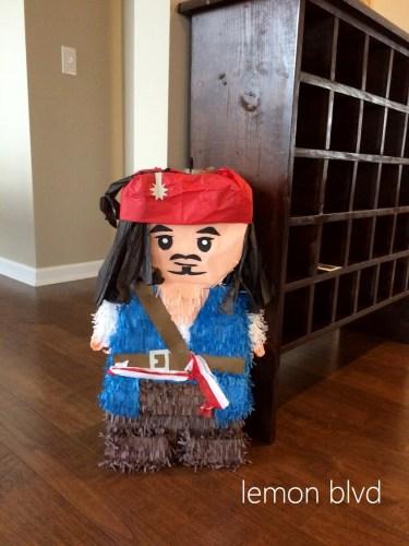Lego Pirate Pinata