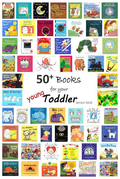 Books for your Young Toddler - building a children's library
