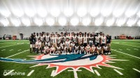 Miami Dolphins OTA Visited by Boca Raton High School | May ...