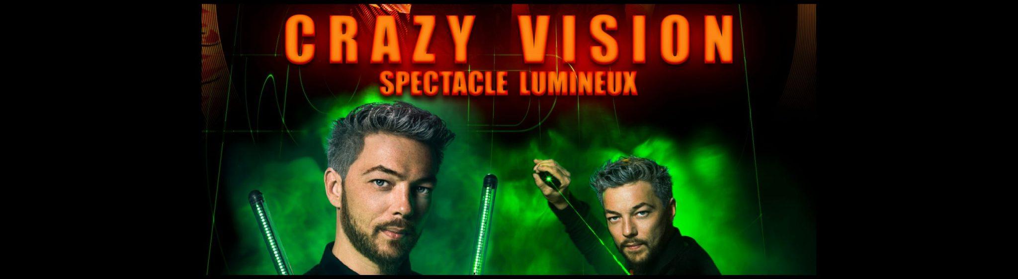 LE Monde de Félix Crazy Vision spectacle lumière Lyon light show France