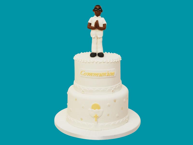 Gâteau de communion Le Monde de Kita