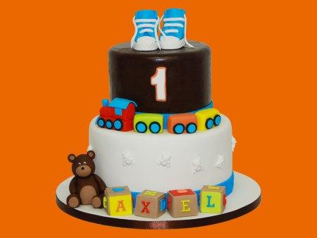 Birthday cake d'Alex