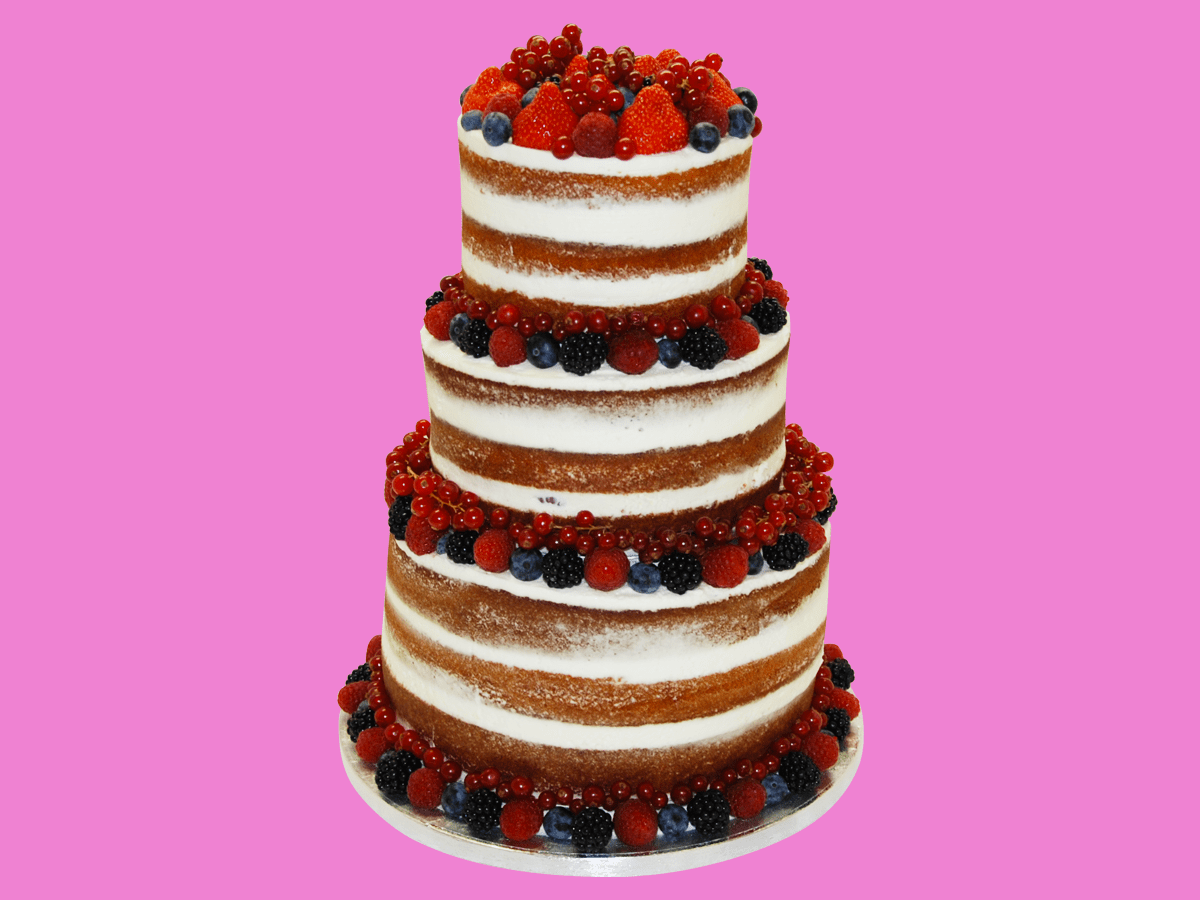 Gâteaux de mariage Naked cake