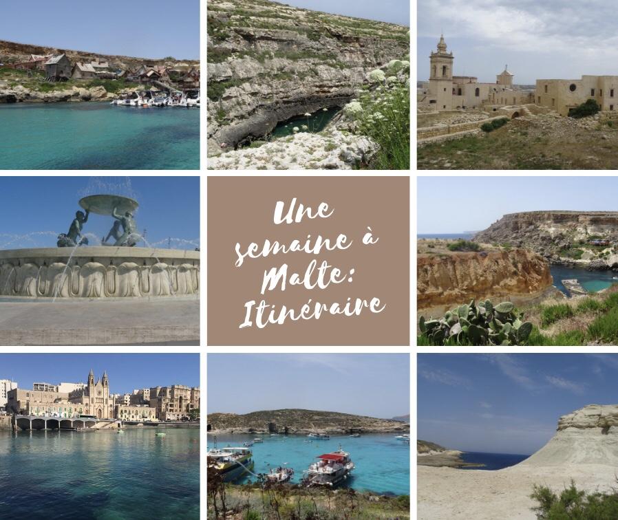 Itinéraire une semaine à Malte