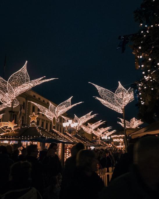 Les fêtes de Noël en Allemagne, marchée de Wiesbaden