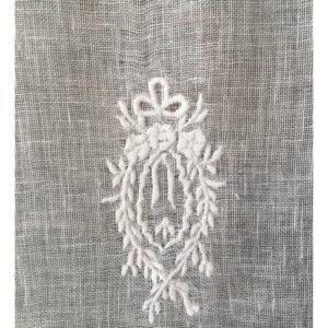 rideaux brise bise au metre boutique