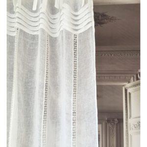 rideaux en lin boutique decoration le