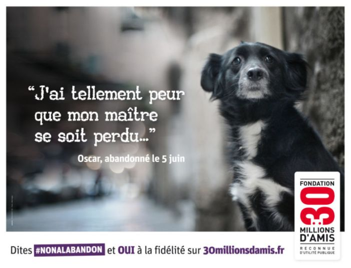 Campagne 30 Millions d'Amis 2014