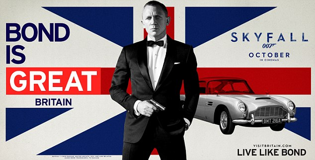 VisitBritain - James Bond is Great Britain