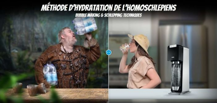 "Sodastream 2017 - ""Who Are The Homoschlepiens ? »"