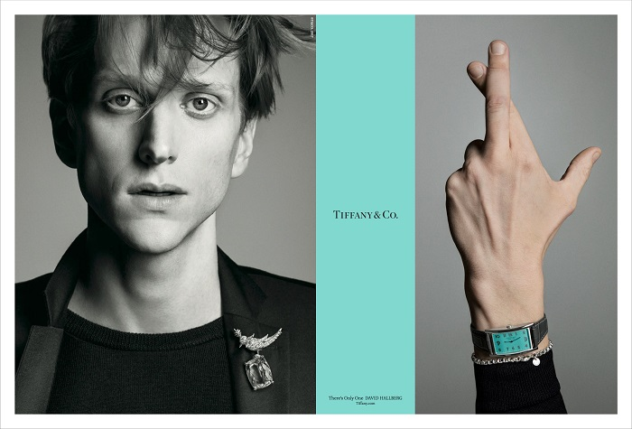 "© Tiffany&Co -  David Hallberg pour ""There's Only One"" Automne 2017"