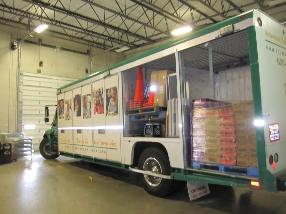 Northern Il Food Bank Food Truck