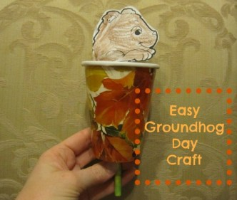 Groundhog Day craft