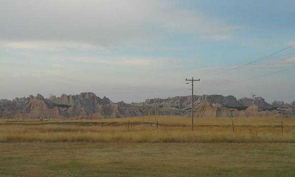Our view from the Badlands Inn, right outside the National Park