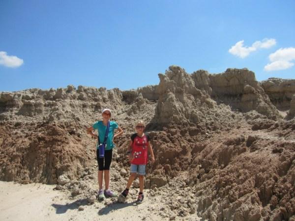 Badlands hiking 1