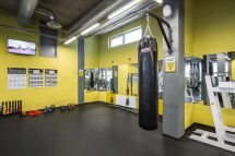 Drop Ceiling in Gym Fitness Center