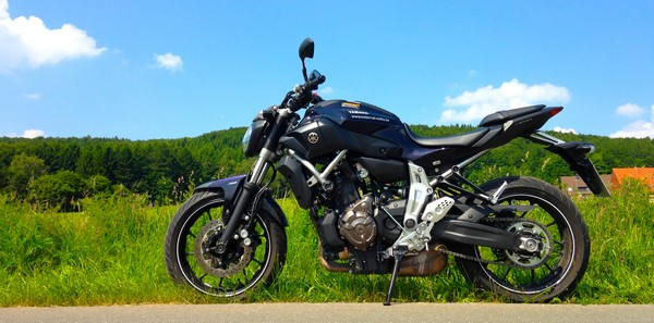 Conduire une moto non bridée