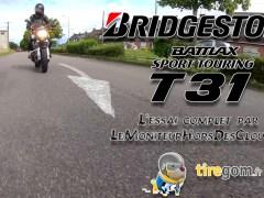 essai BridgeStone T31