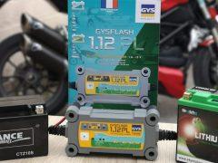 Essai chargeur batterie lithium et plomb GYS 1.12PL