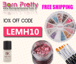 10% off at Born Pretty Store with code LEMH10