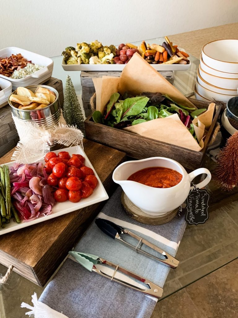 Build Your Own Roasted Vegetable Salad Bar
