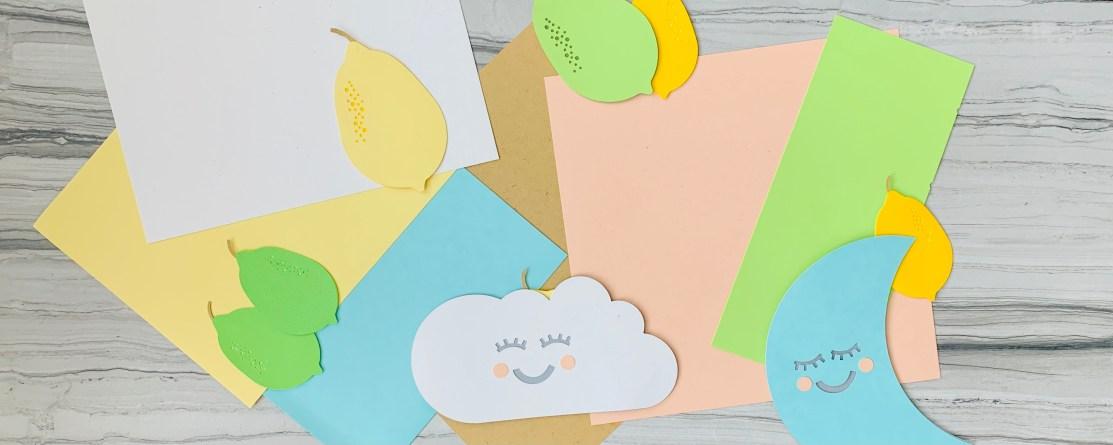 happy cloud paper art cricut machine
