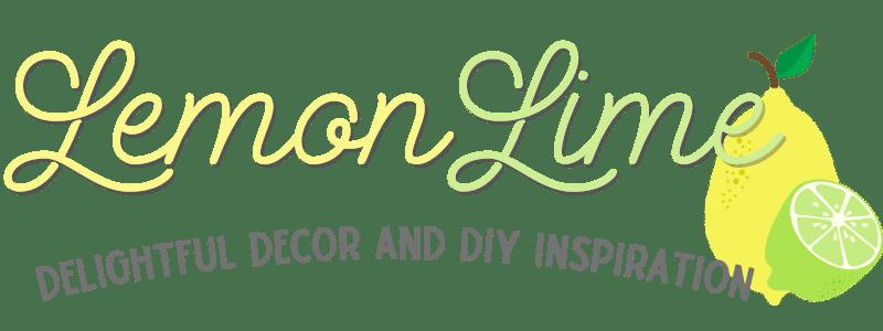 lemonlime decor logo delightful decor and diy inspiration