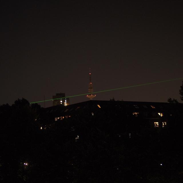 Laser in Hamburg