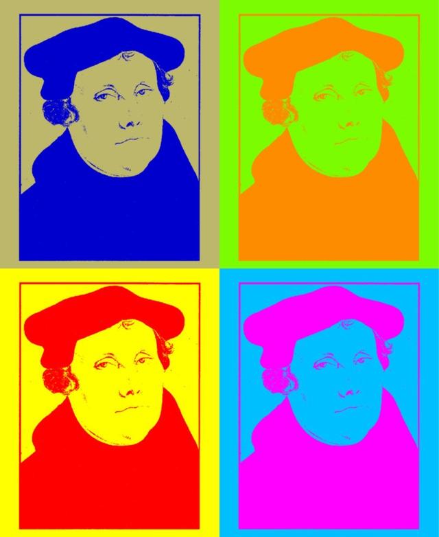 Martin Luther Popup Artist